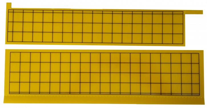 Klebefolie für Thekengerät TGK-Serie