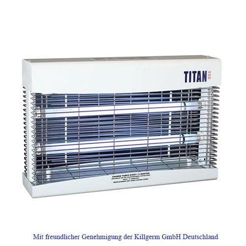 Titan 300 - UV-Lichtfalle mit Spannungsgitter
