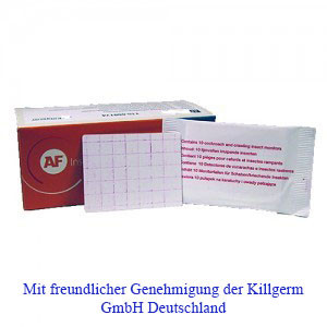 AF® Insektenmonitor Klebeboden (1x 10 St.)
