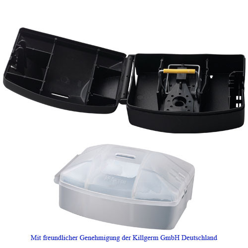 AF® Snappa (Mäuseköderbox) schwarz