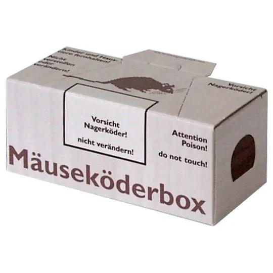 Nagerbox Maus ohne Fenster mit Lasche