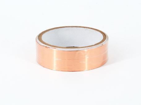 Kupferband zur Schneckenabwehr